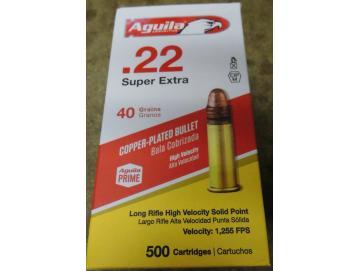 Aguila 22lr super HV