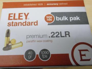 ELEY 22lr standard
