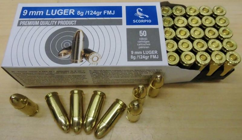 SVT 9mm Luger VM 124gr