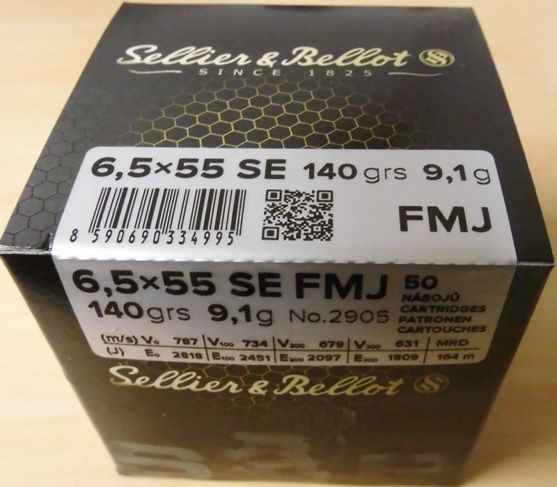 6,5x55 VM 140gr