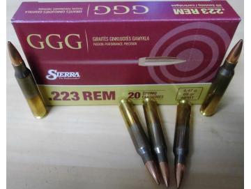 GGG 223rem HPBT SMK 69 gr Match
