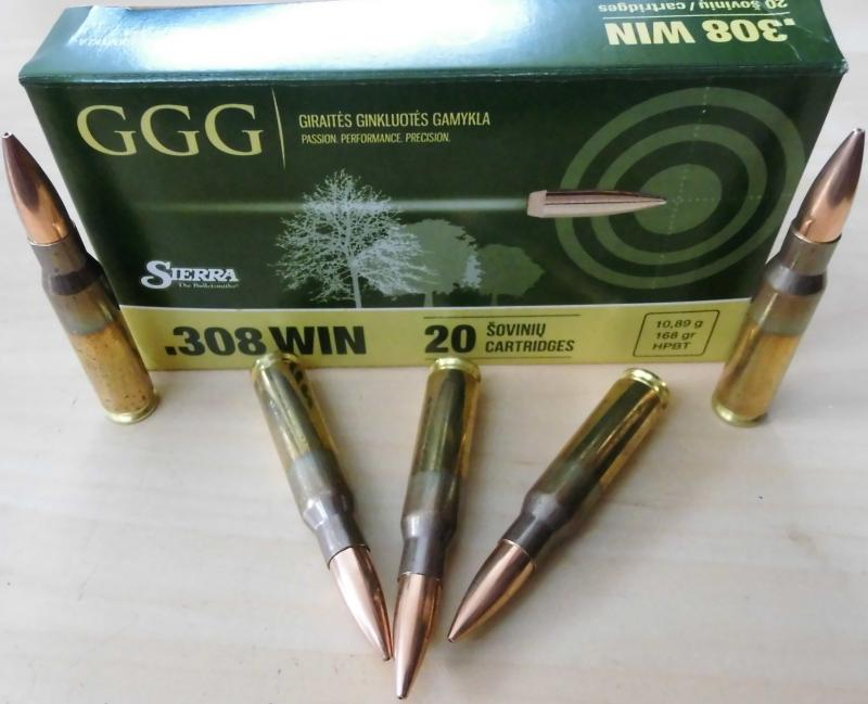 308win HPBT SMK 168 gr Match