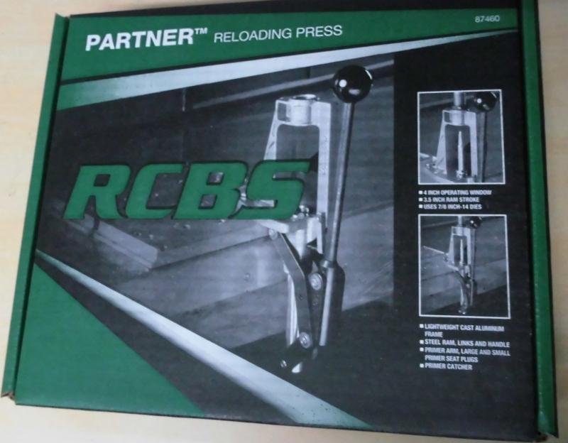 Ladepresse RCBS Partner