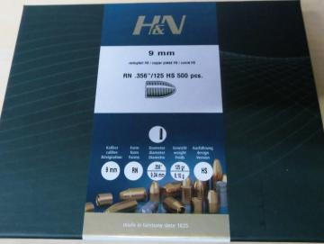 Geschosse H&N 9mm 125gr