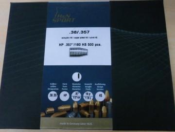 Geschosse H&N 38 / 357 180gr