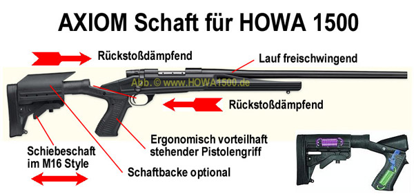 HOWA 1500 AXIOM Highlander 308win