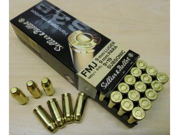 9mm Luger subsonic