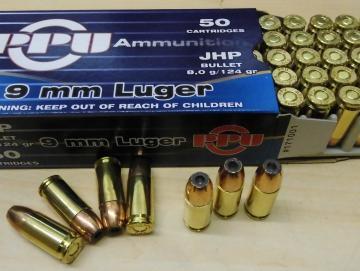 9mm Luger JHP