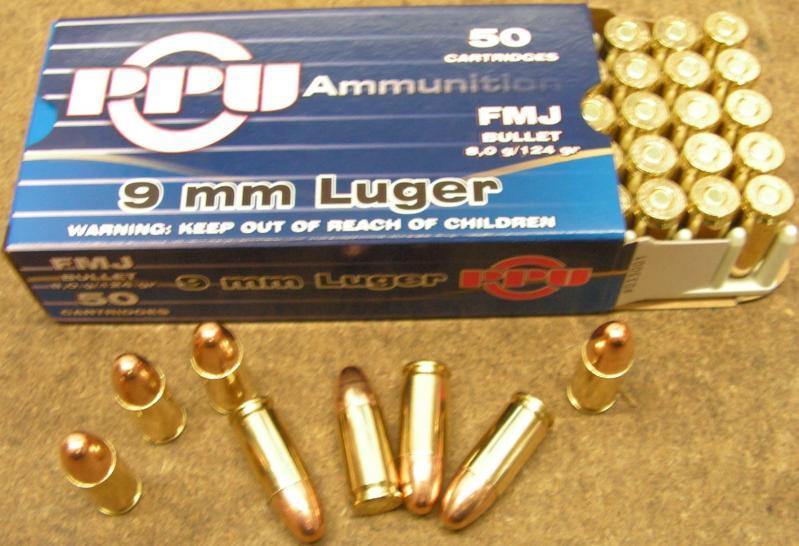 9mm Luger VM 124gr