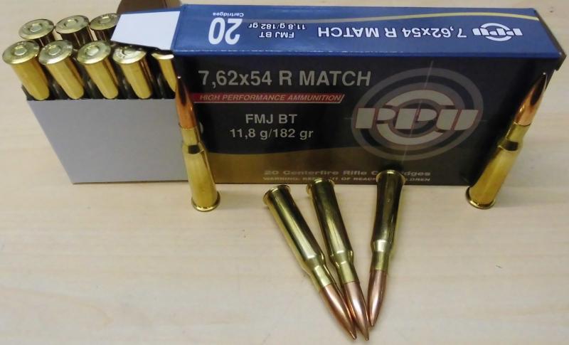 7,62x54 R VM Match