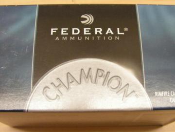 Federal 22lr champion