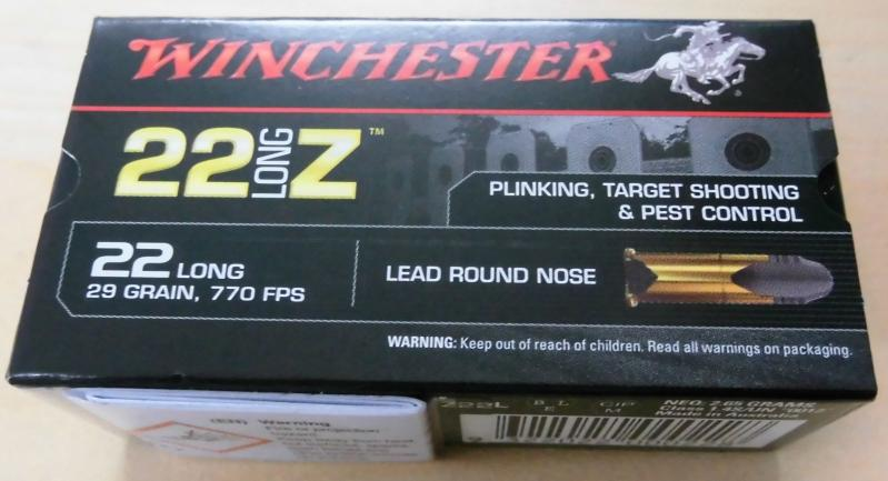 Winchester 22long Z