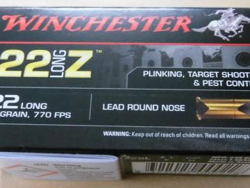 Winchester 22long Z