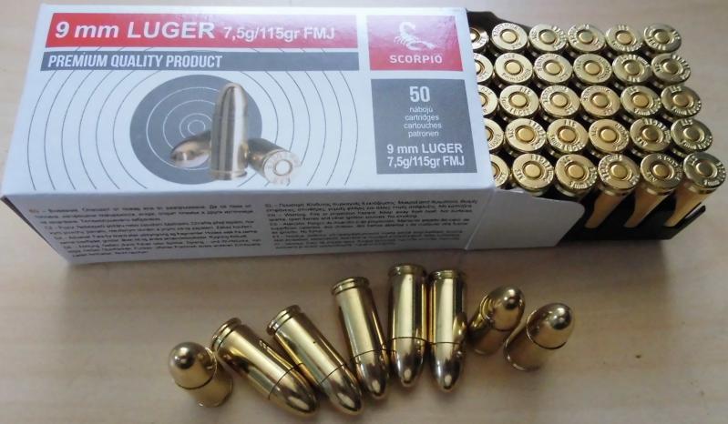 SVT 9mm Luger VM 115gr
