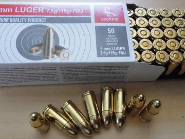 STV 9mm Luger VM 115gr